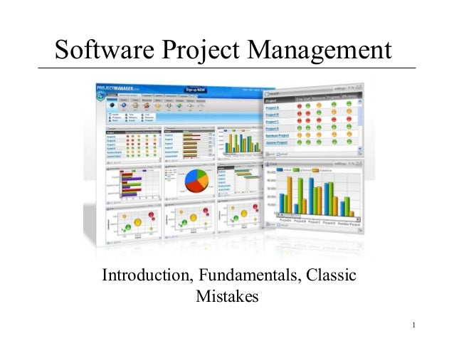 Software Project Management( lecture 1)