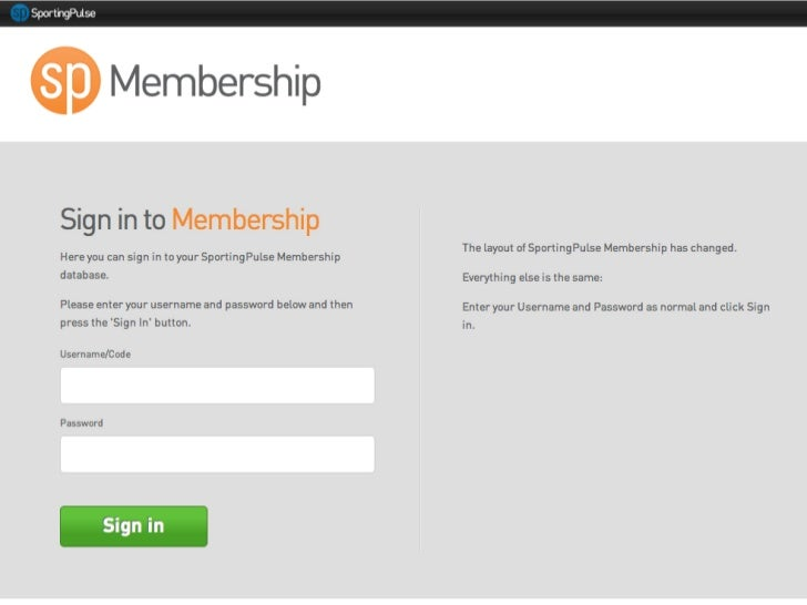 SP Passport - membership transition and dashboard