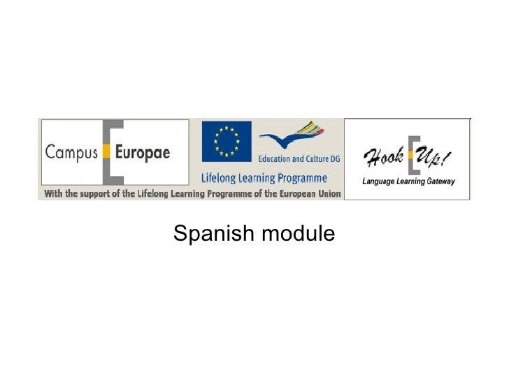 Spanish module