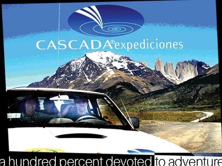 Cascada Expediciones y EcoCamp Patagonia