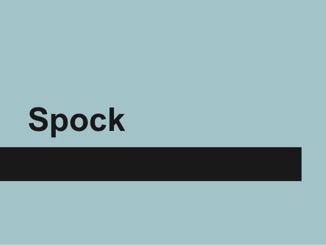 Spock pres