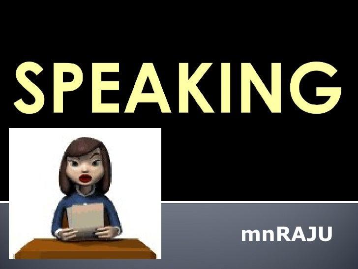 Spoken English for Engg eachers