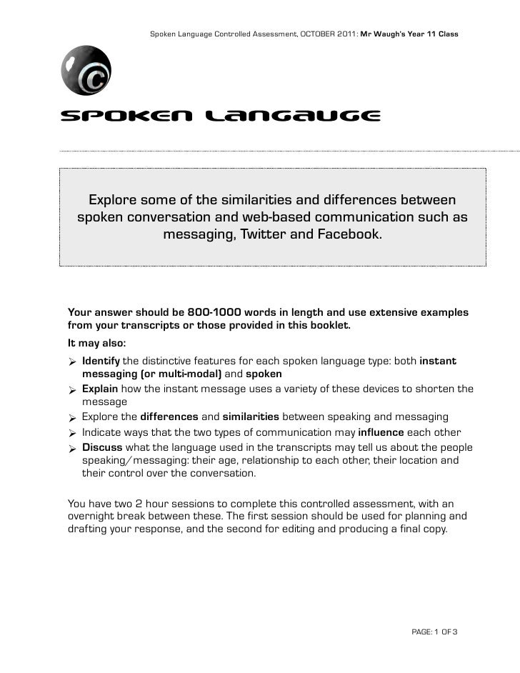 explore some aspects of spoken language Some language scientists will (relatively) a much simpler and narrower feature of spoken language if you are using microsoft internet explorer.