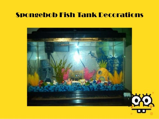 Spongebob Fish Tank Decorations
