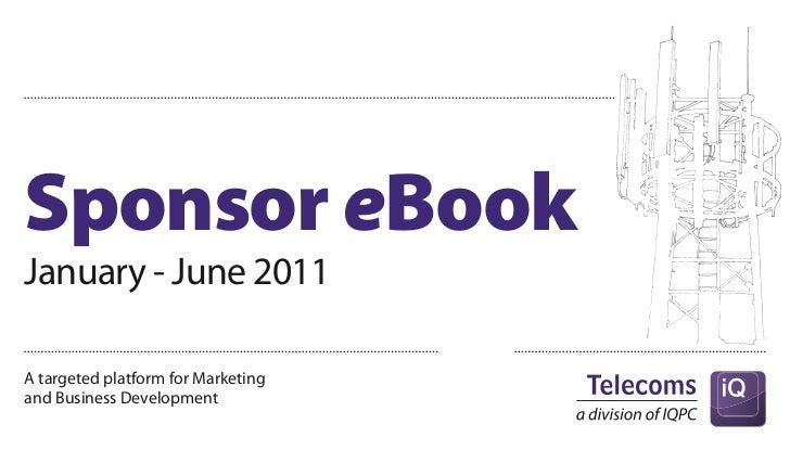 Sponsor eBookJanuary - June 2011A targeted platform for Marketingand Business Development