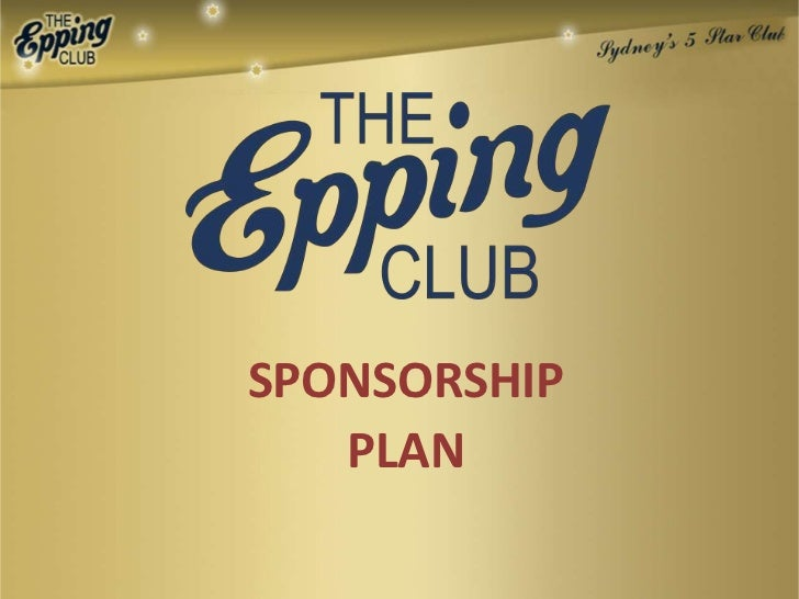 Epping Club Sporting Sponsorship