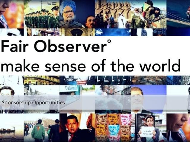 Fair Observer - Making sense of the world