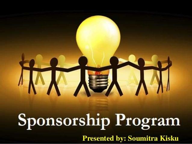 Sponsorship program ppt