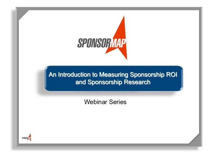 Sponsorship Research & ROI