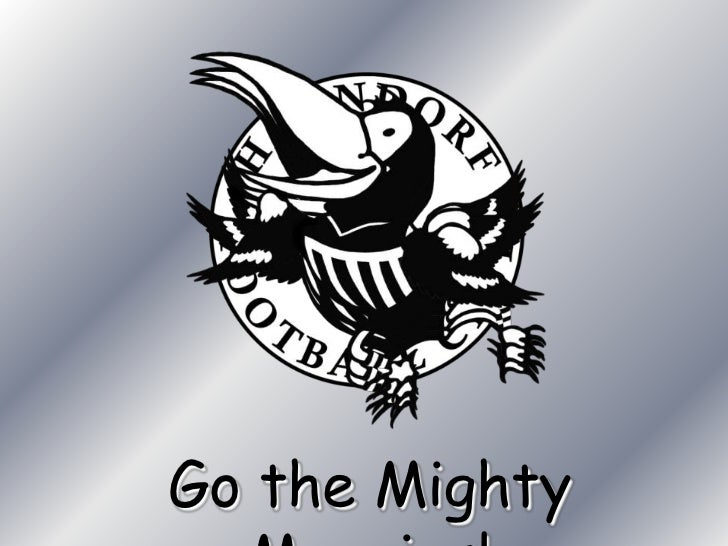 Go the Mighty Magpies!<br />