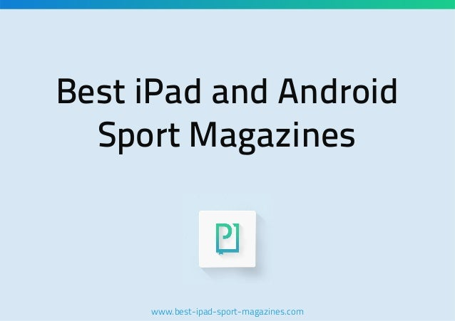 Best iPad and Android Sport Magazines