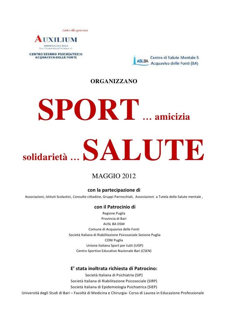 Sport....salute 2012