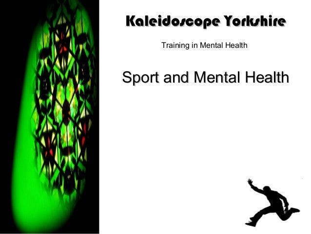 Sport and mental health slides