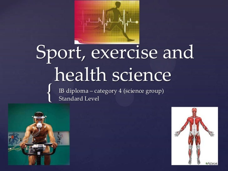 Exercise Physiology ib subjects groups