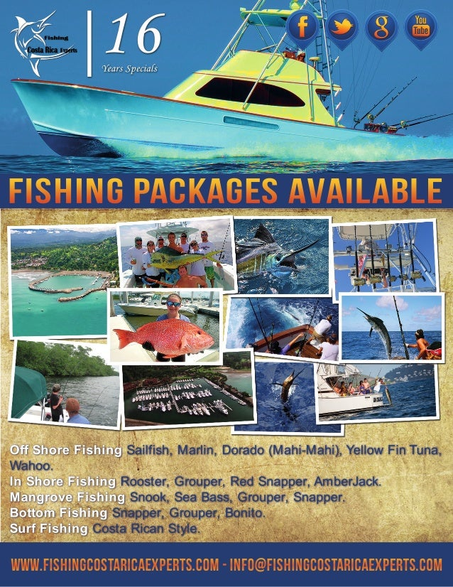 Sport fishing packages costa rica for Costa rica fishing vacations