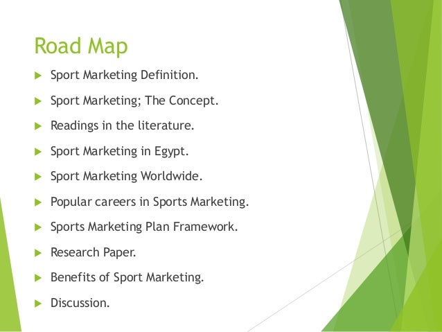 sports marketing paper Sports marketing uses sports, in any form, to help sell goods and services this particular style of marketing is less about using a single strategy and more about using the content of sports to assist.