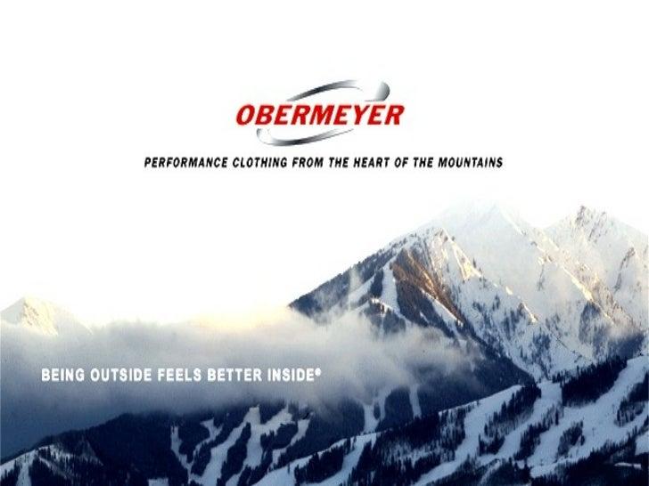 Supply Chain Management Sport Obermeyer