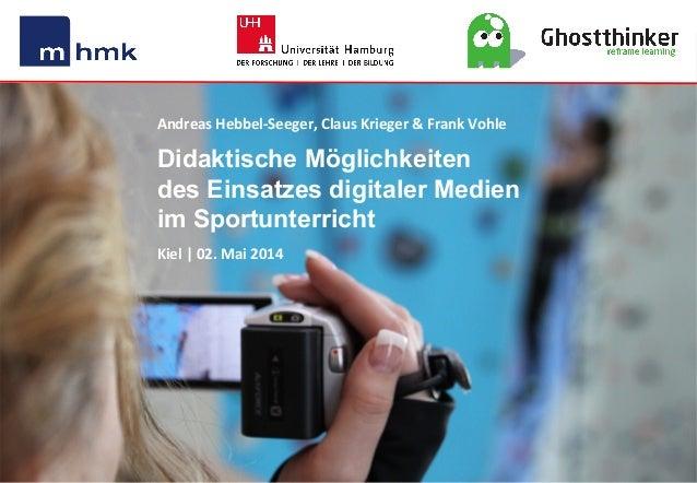 MHMK Macromedia Hochschule für Medien und Kommunikation Andreas  Hebbel-‐Seeger,  Claus  Krieger  &  Frank  V...