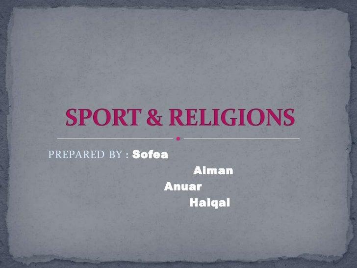 Sport & religions
