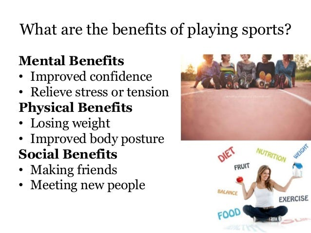 Benefits of Sports to Students
