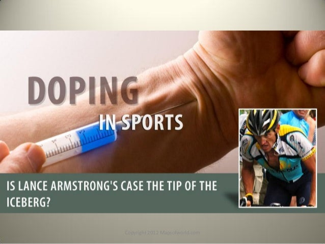 Doping In Sports - Is Lance Armstrong Case The Tip Of The Iceberg? - Facts & Infographic PDF