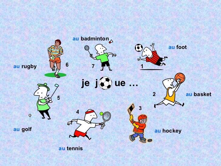Sports jouer or faire with au and du de la de l for Ou faire les magasins a paris