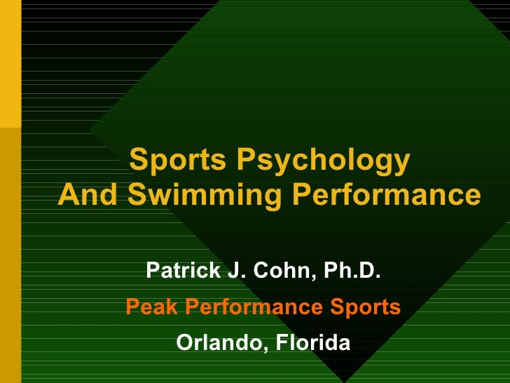 Sports Psychology for Swimmers