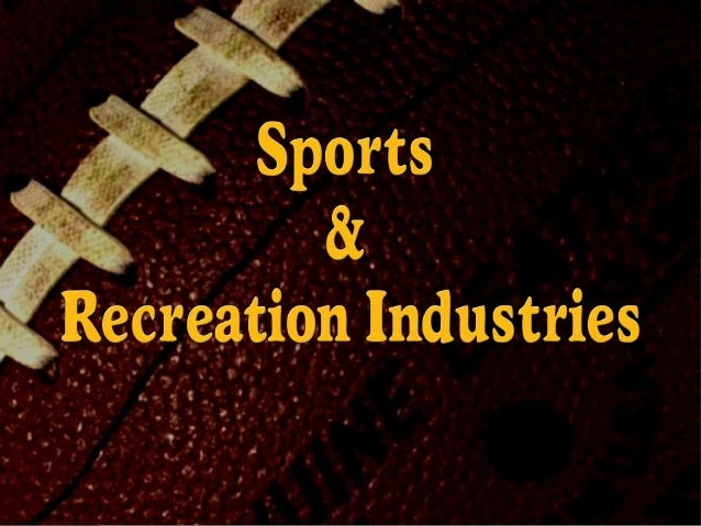 Sports and rec industries student