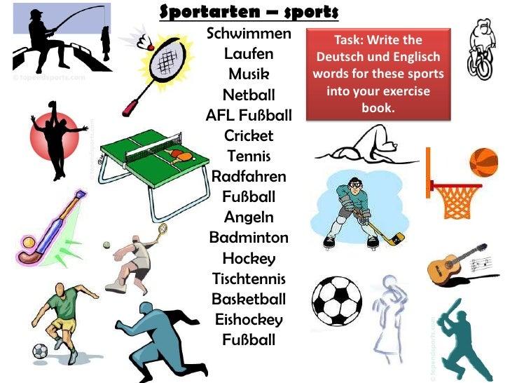 Sports and spielen