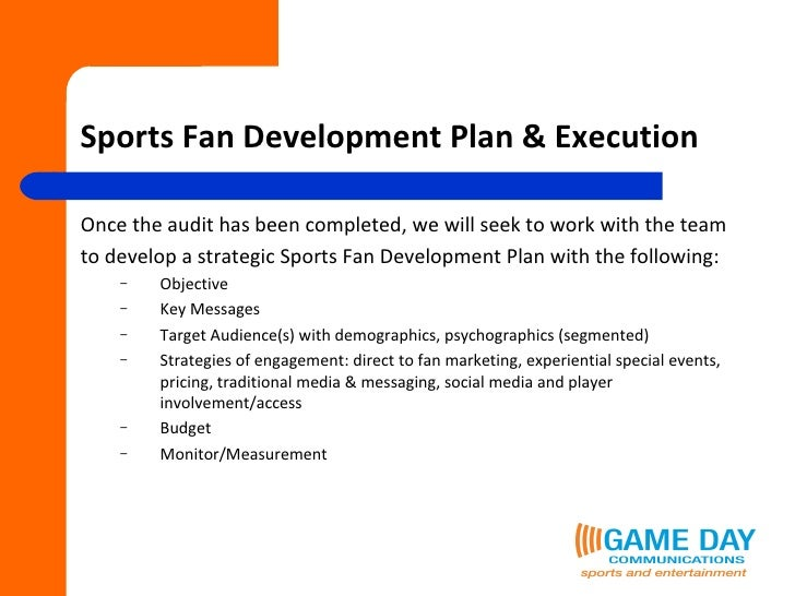 sport development plan