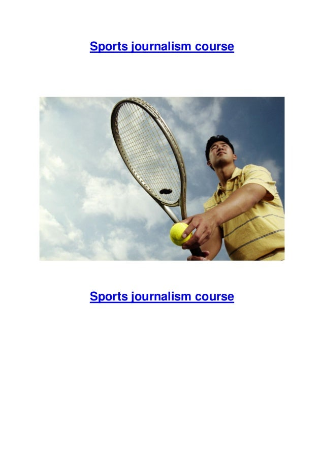 Sports journalism courses for everyone!