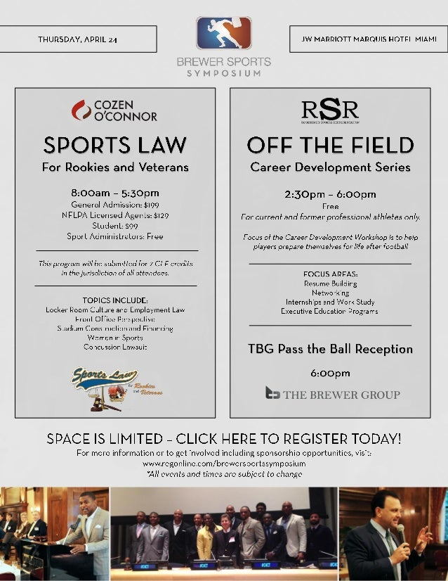 Cozen O'Connor Sports Law Symposium