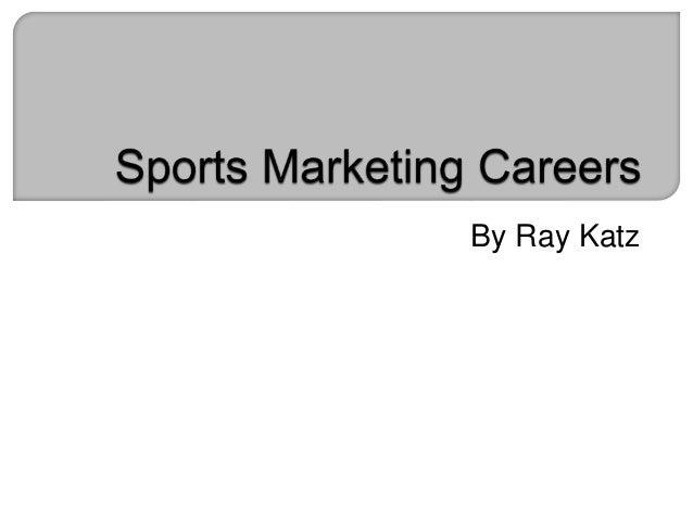 how to get a career in sports marketing