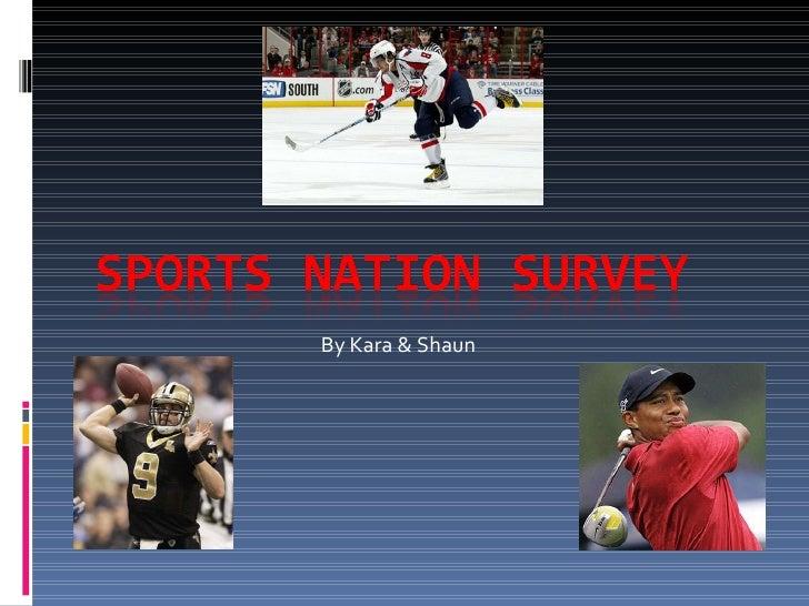 Sports Nation Survey