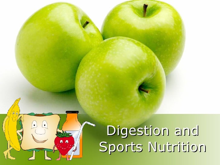 Digestion and Sports Nutrition