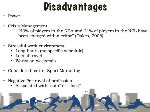 advantages and disadvantages of sports