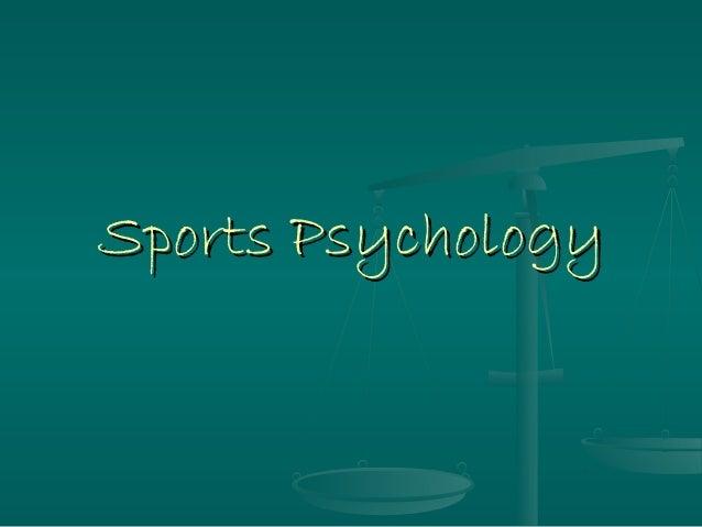 Sports PsychologySports Psychology