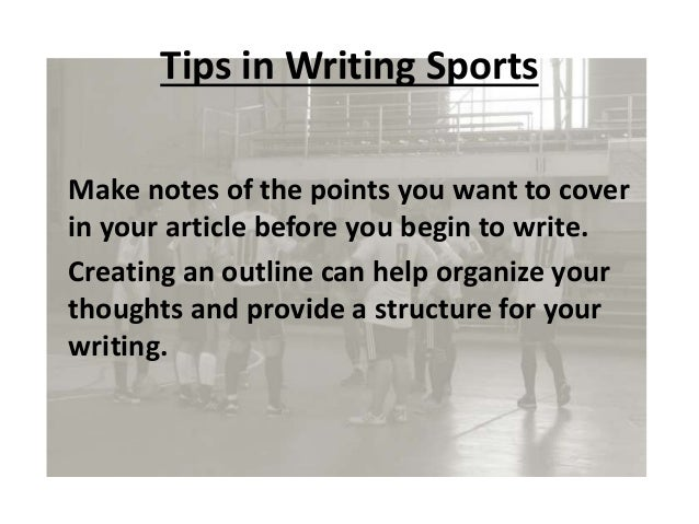 How to do article writing