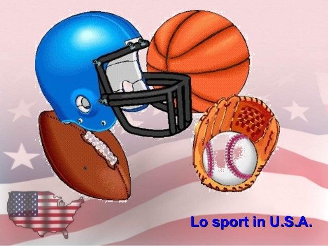 Lo sport in U.S.A.