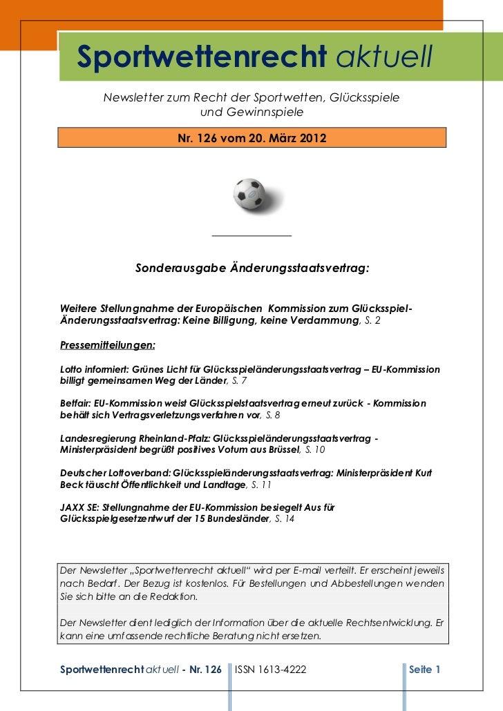 Sportwettenrecht126
