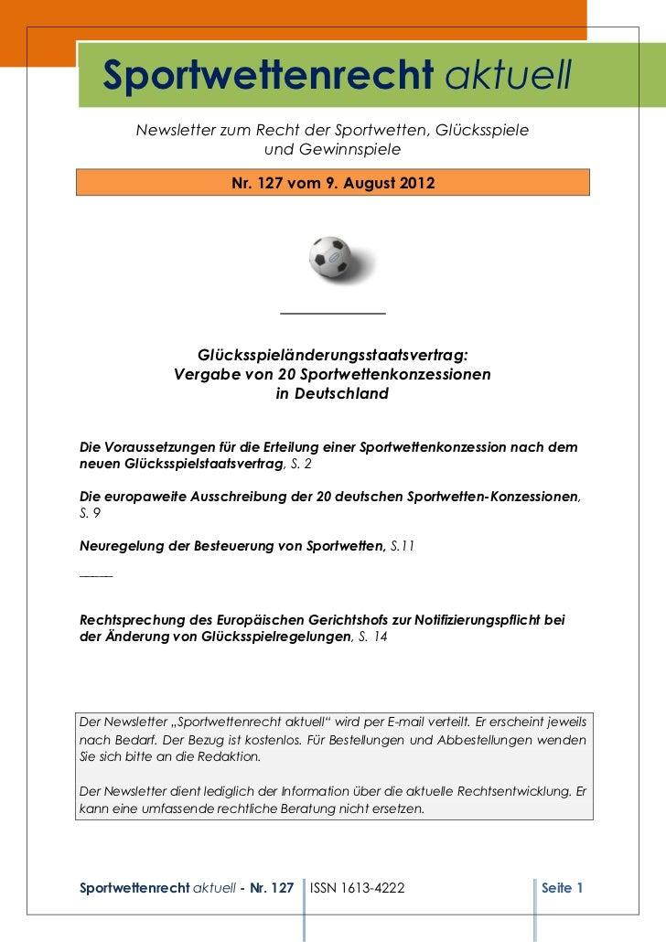 Sportwettenrecht127