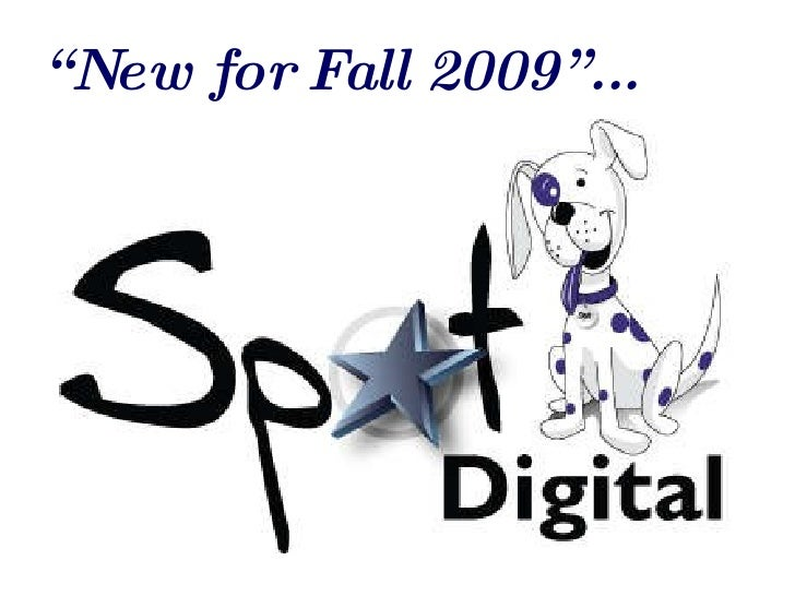 """"""" New for Fall 2009""""..."""