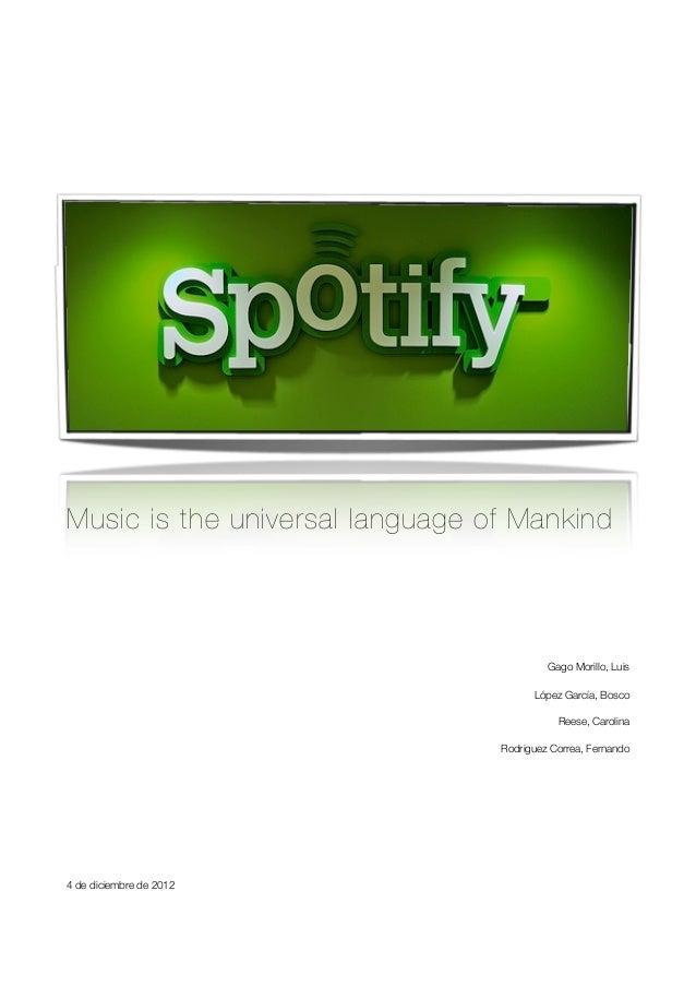 Spotify contra briefing