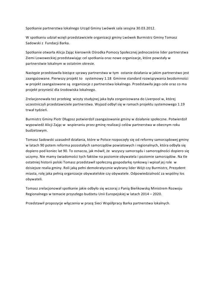 Spotkanie partnerstwa lokalnego urząd gminy lwówek sala sesyjna 30pdf1