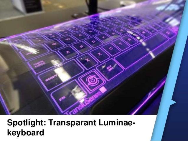 Spotlight: Transparant Luminae-keyboard