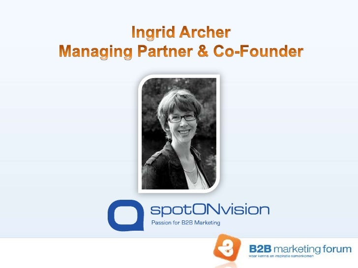 Content marketing: Recycling content | case studies – Ingrid Archer – spotONvision