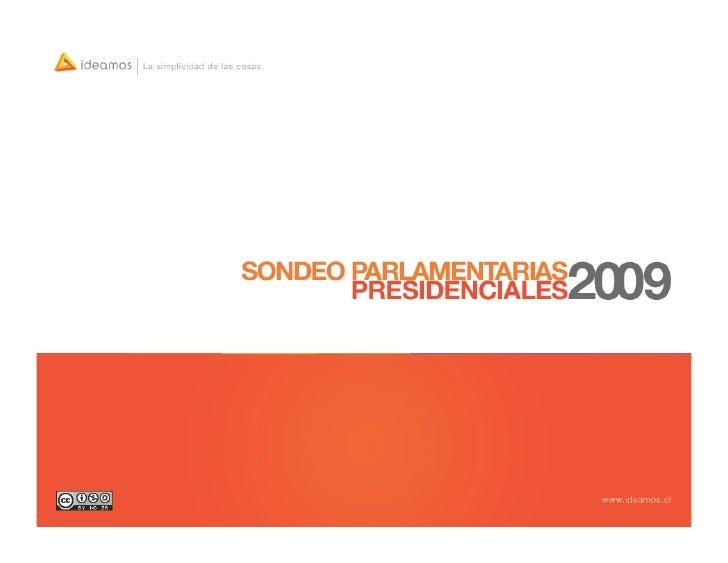 Sondeo Parlamentarias/Presidenciales Sept-Oct
