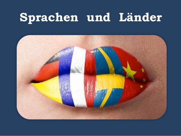 Sprachen und Länder