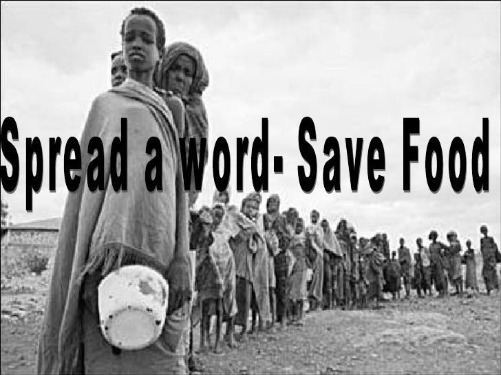 Spread a word- Save Food