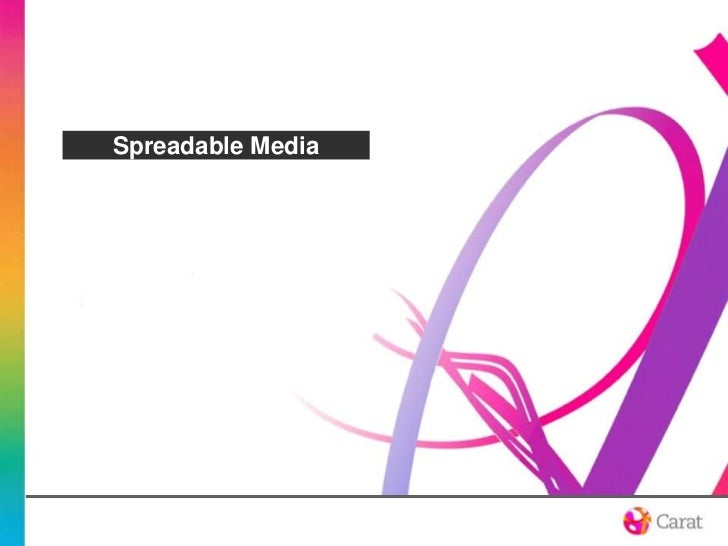 Spreadable Media<br />